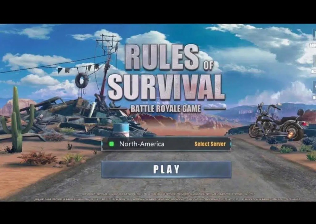 capa do jogo de battle royale para pc fraco rules of survival