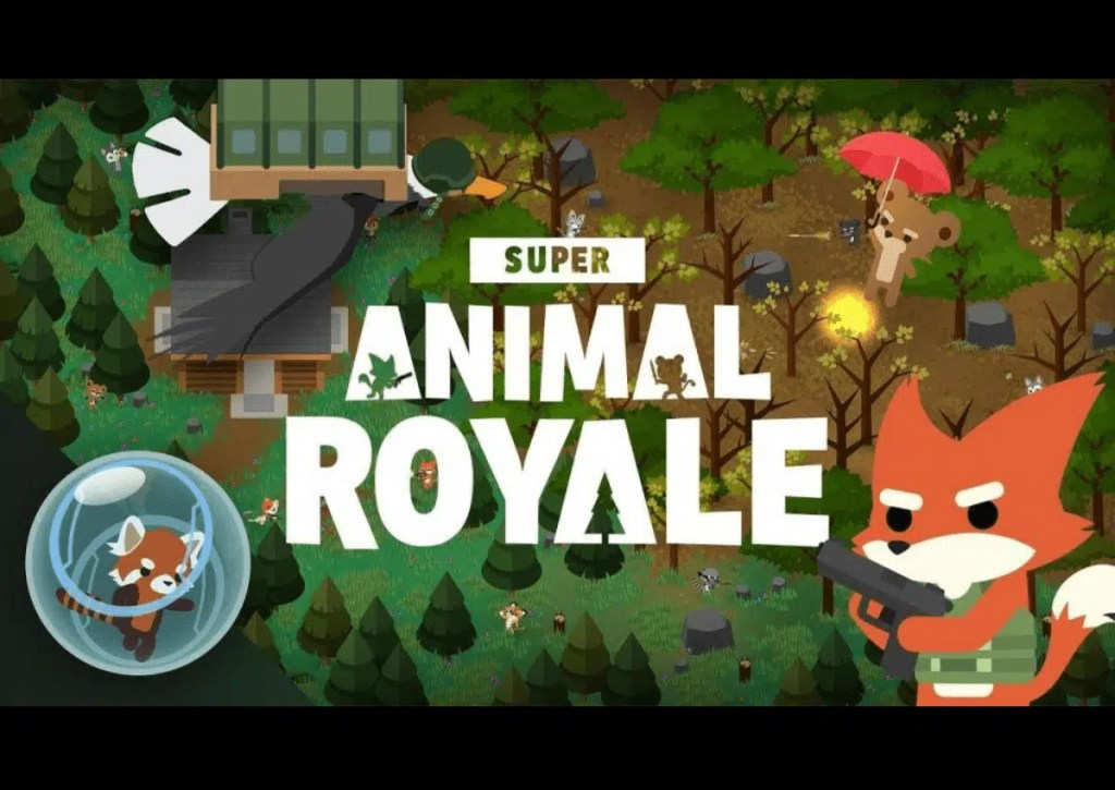 capa do jogo para pc fraco super animal royale