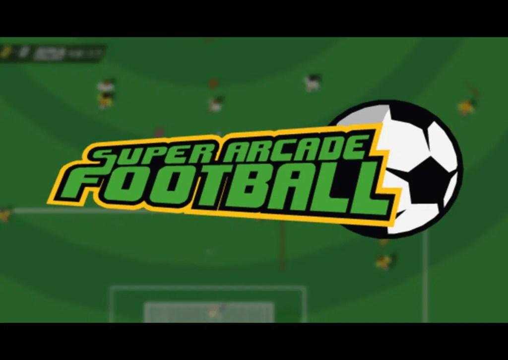 capa do jogo para pc fraco super football arcade