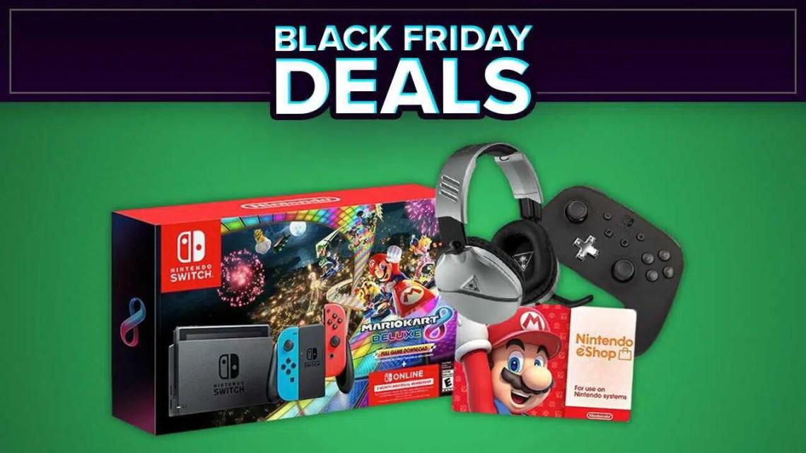 Black Friday 2020 inclui pacote de console Nintendo Switch, controladores e muito mais