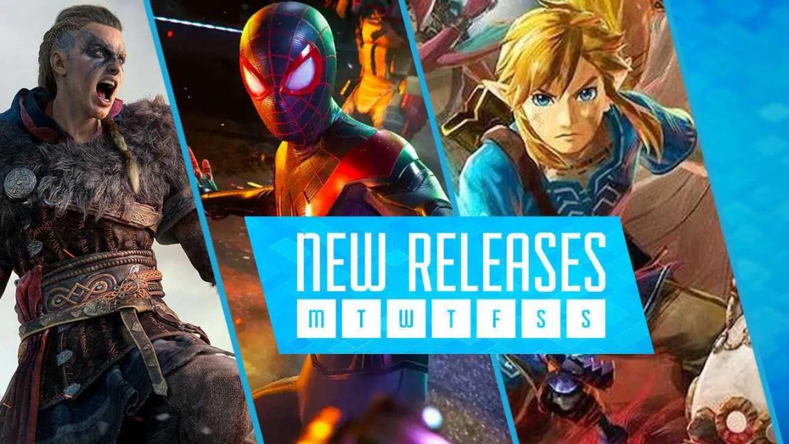 Principais lançamentos de novos jogos no PS5, Série X / S, Switch e PC este mês – novembro de 2020
