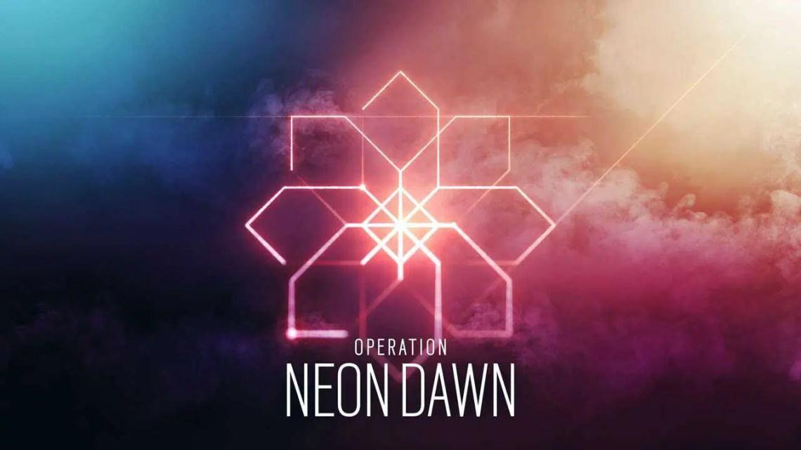 Revelada a Operação Neon Dawn do Rainbow Six Siege, vai ao ar no servidor de teste para PC na segunda-feira