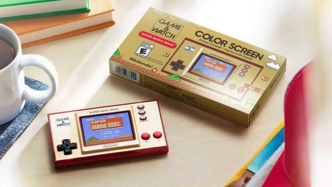 Game & Watch: Super Mario Bros. é quase o Game Boy Classic que eu sempre quis