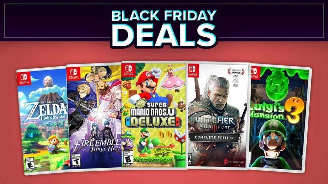 Melhores ofertas de jogos Nintendo Switch Black Friday 2020