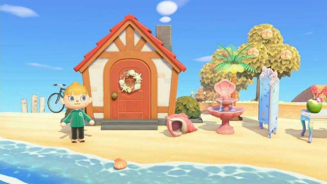 Nintendo compartilha seu próprio Animal Crossing: New Horizons Island