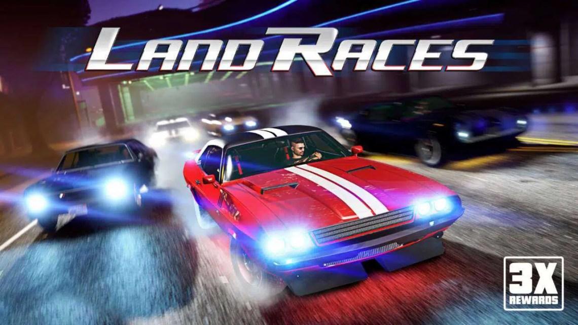 GTA 5 Online tem recompensas triplas para corridas terrestres esta semana