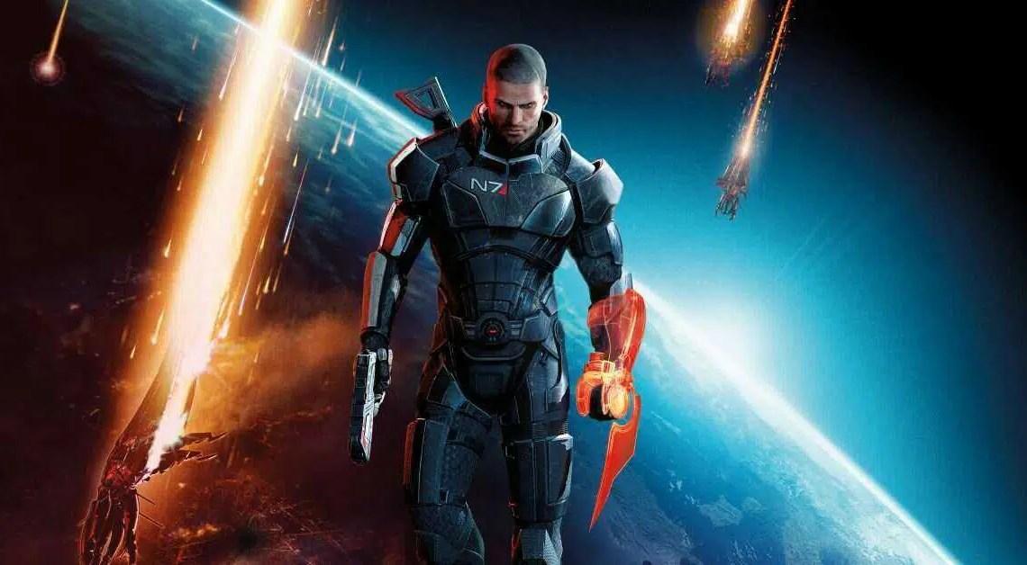 Confira este Slick Custom Mass Effect PS5