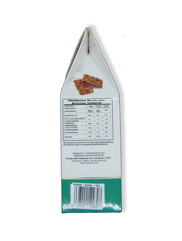 immagine Croccante di arachidi I Siciliami lato