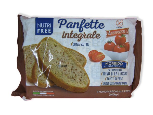 immagine panfette integrale Nutrifree