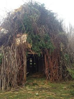 Falò San Antonio 15 Gen. - Ecco la casa degli Hobbit