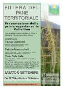 Filiera del Pane Territoriale Ponte Valtellina - La Locandina