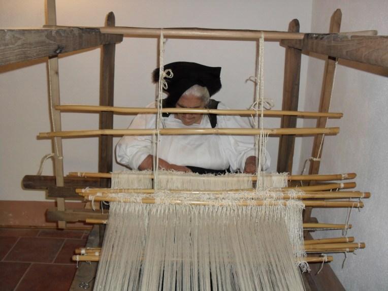 Tessitura della lana