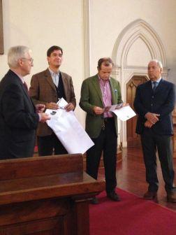 Il Pastore della Chiesa con l'Orto della Fede, Giovanni Sala, Gianluca Brivo e Francesco Ingegnoli