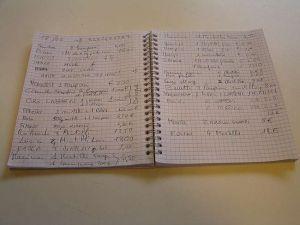 Quaderno Erini
