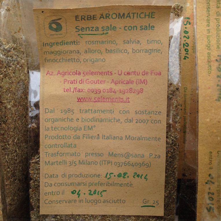 Erbe Aromatiche