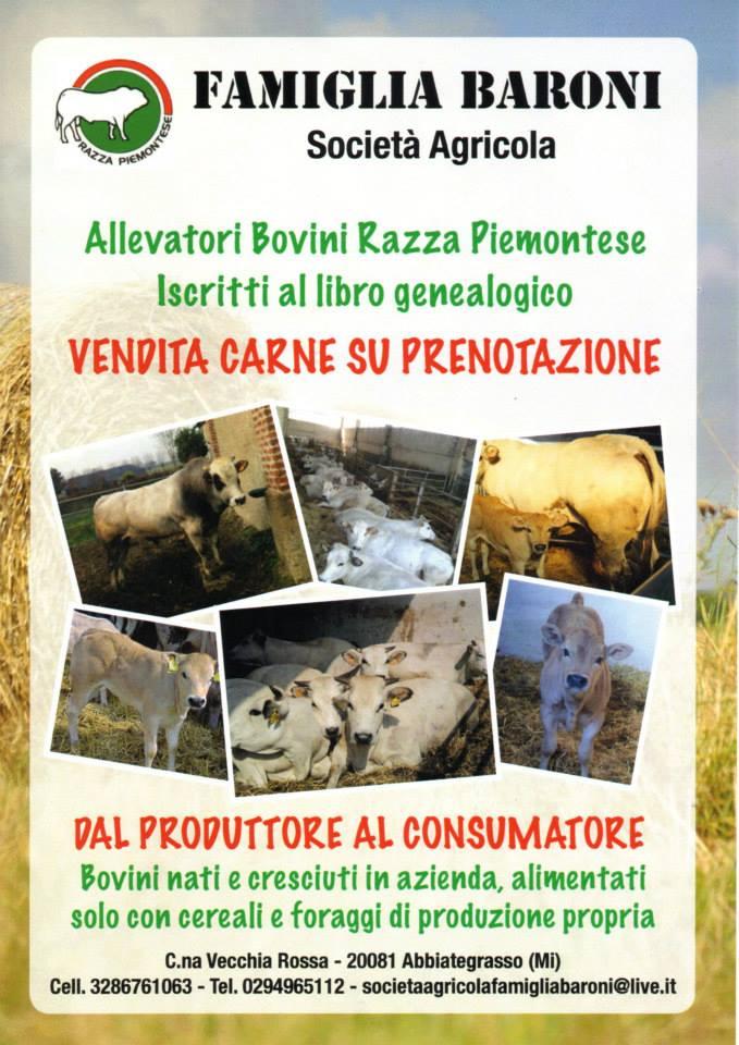 Famiglia Baroni - Vendita Carni Razza Piemontese