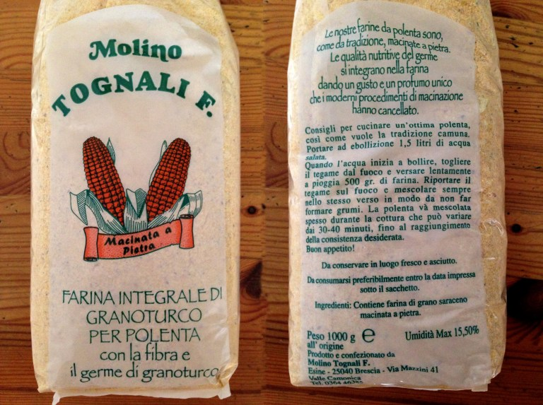 Molino Tognali - Farina per Polenta con Indirizzo e Telefono