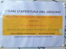 Agroittica San Fiorino - Orari Negozio
