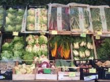 Sovranita Alimentare a Milano - Verdure al Mercato Contadino di Cascina Cuccagna