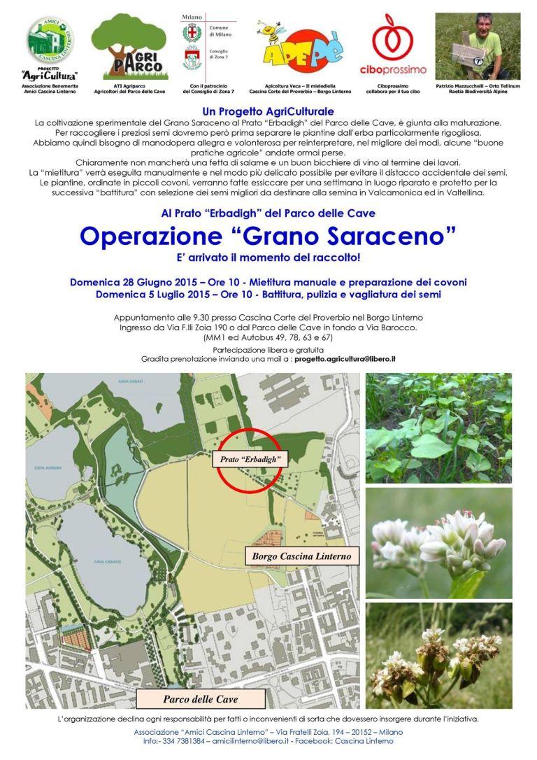Tempo di Raccolta - Operazione Grano Saraceno