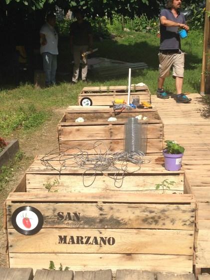 Exponymi Installazione - I Pomodori sul Retro