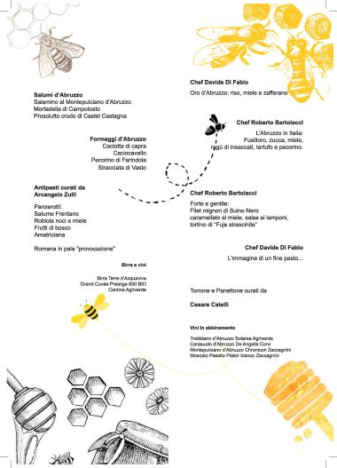 La Cucina il Miele e le Api un Innovativo Modello per la Valorizzazione del Territorio - AssApiRa