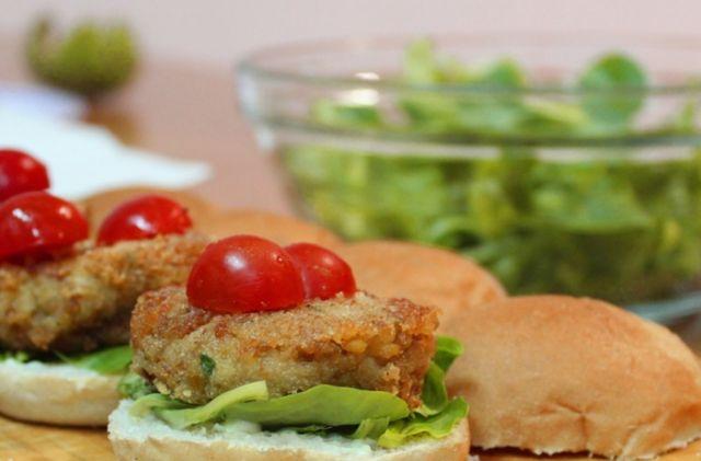 Hamburger di ceci vegetariano: ricetta facile