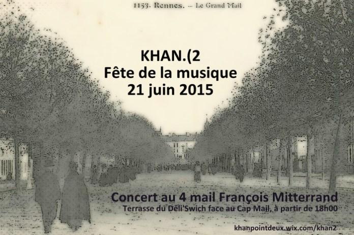 Khan.(2 sur le mail Mitterrand