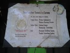 Inpo ngeunaan situs Gunung Lingga