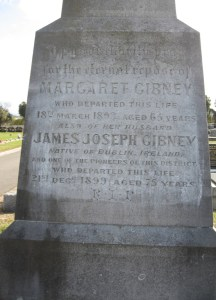 James Joseph GIBNEY () and Margaret GIBNEY nee RICE (-1893E