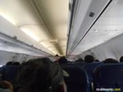 didalam kabin pesawat lion air