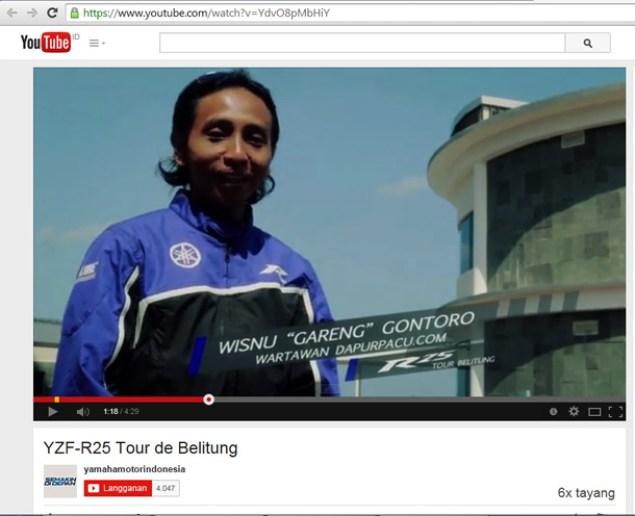 belitung video yamaha1