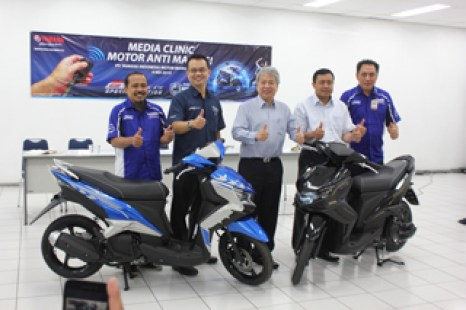 Management PT Yamaha Indonesia Motor Manufacturing dalam Press Conference Motor Anti Maling GT Eagle Eye Special Edition dengan fitur Autosafe (2)