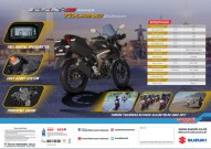 GSXS TOURING BACKlow