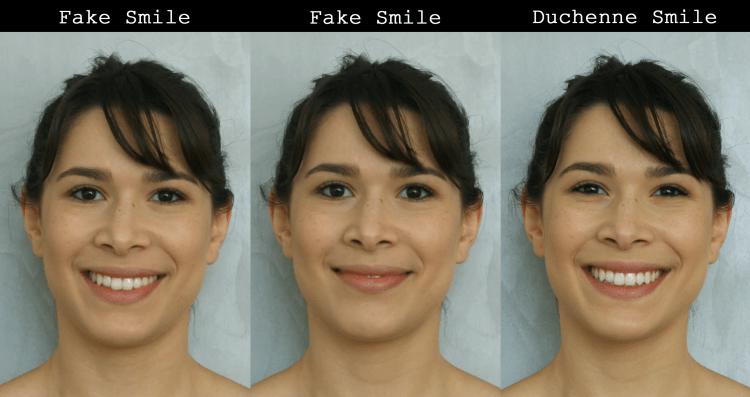 sorriso de alegria FACS Facial Action Codign System