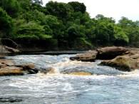 Corredeira do rio Carabinani - Parna Jaú (Iasmina Freire)