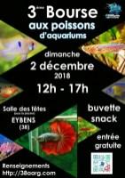 3ème bourse aux poissons le 2 décembre 2018 à Eybens