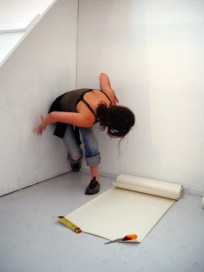 The Measuring Room - BLANK Gallery installation view, CiCi Blumstein 2008.