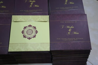 Wedding Souvenir Puri Ageng Kesiman Denpasar