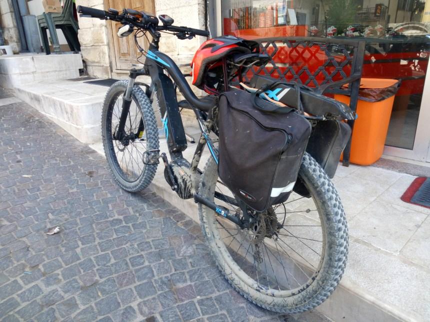 e-bike sulla Magna Via Francigena