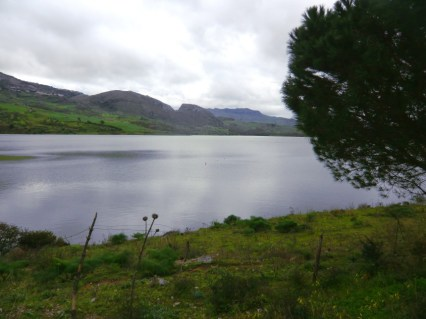 Views across Lake Rosamarina