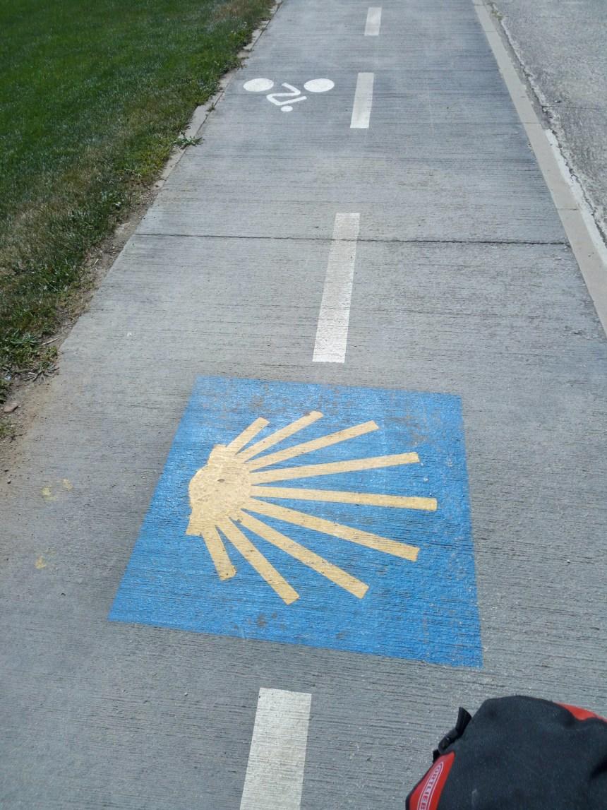 Il cammino di santiago in bici