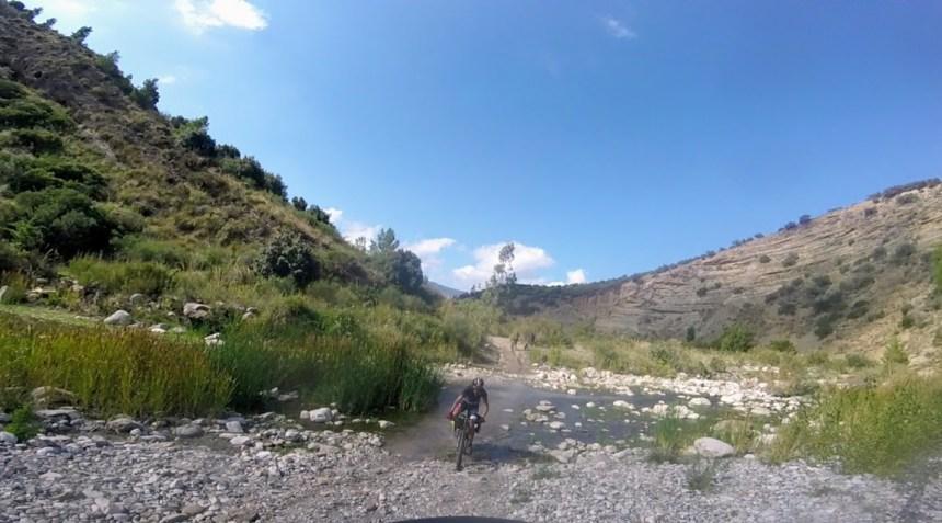 Imera settentrionale in mountain bike