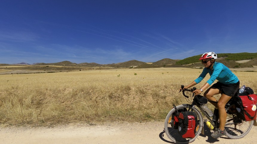 in bici sul santiago