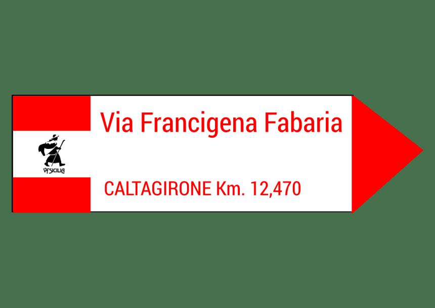 segnaletica via francigena fabaria