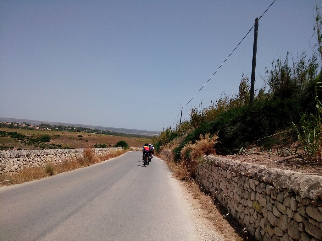 Road cycling in Sicily