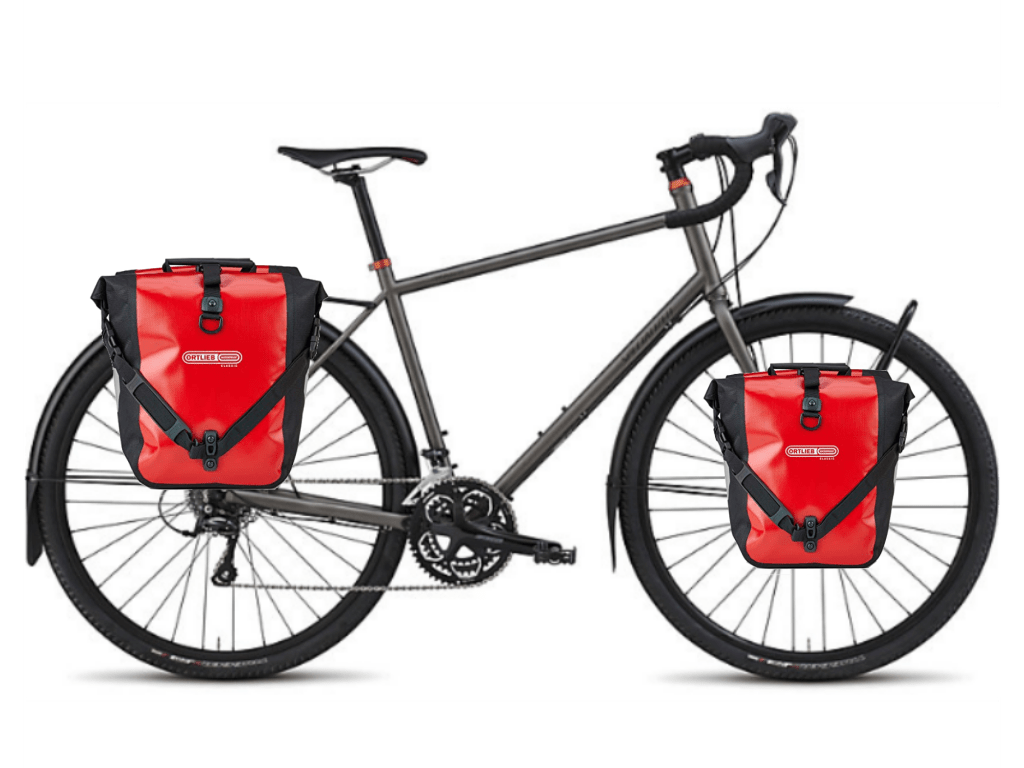 Specialized Awol with Rear Rack and Panniers
