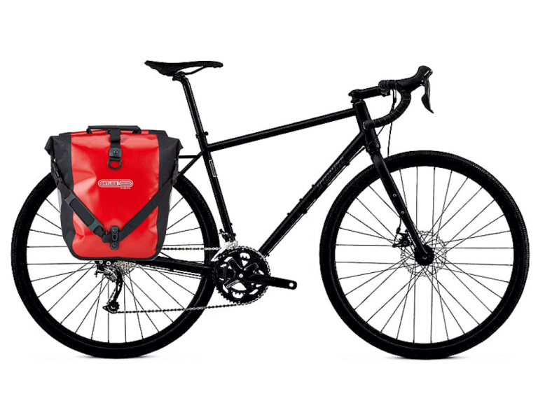 Specialized Sequoia with Rear Rack and Panniers