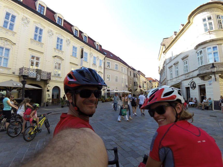 Viaggio in bici da Vienna a Bratislava