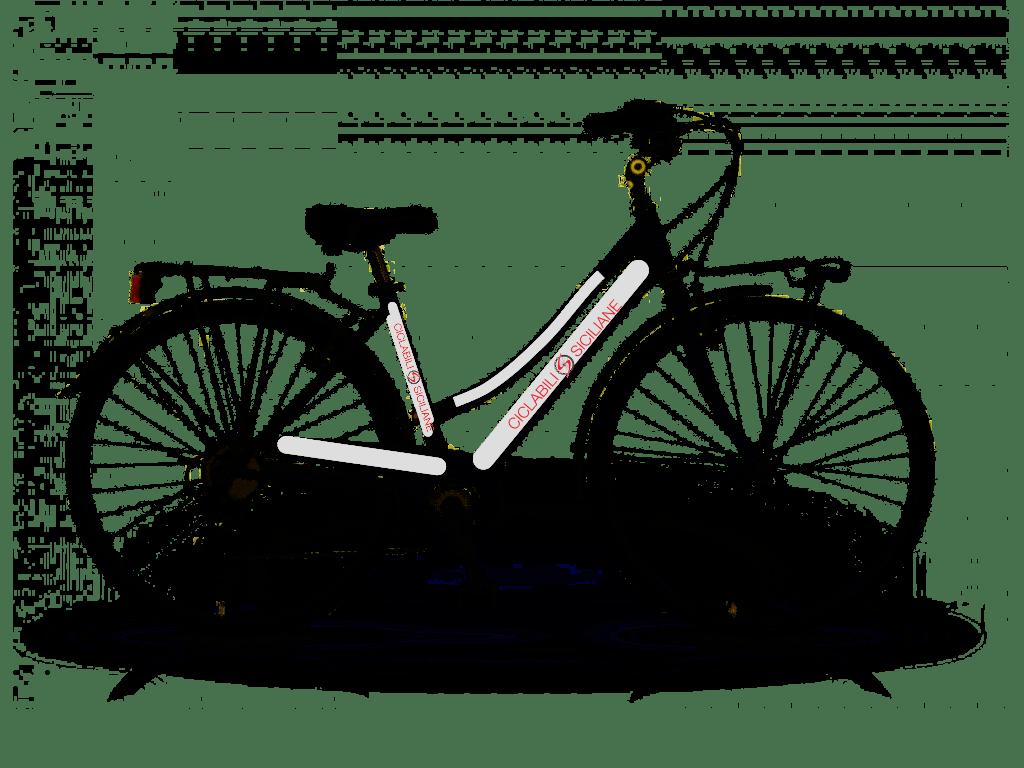 Aluminium City Bike Shimano 21v